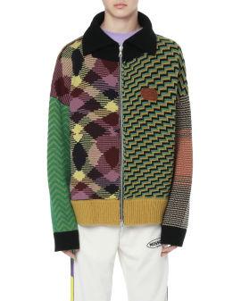 X MISSONI patchwork cardigan