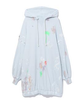 Painted hoodie dress