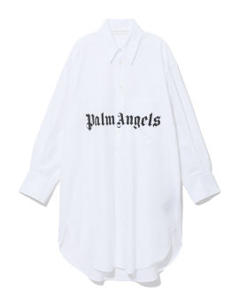 Logo dress shirt