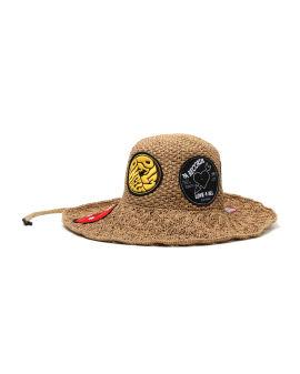 Records rafia hat