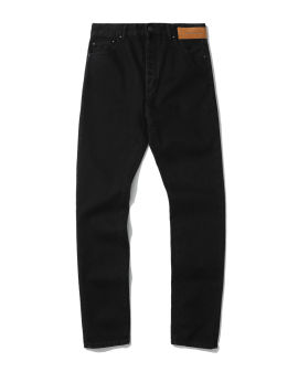 Curved logo 5 pockets jeans