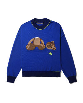 PA bear knit sweater