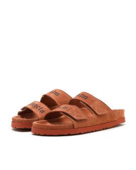 Slip-on logo sandals