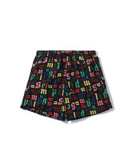 Monogram swim shorts