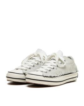 Fringe basketball low vulcanized sneakers