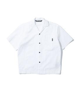 Curved logo bowling shirt