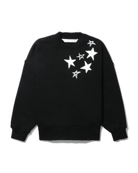 Shooting stars logo sweatshirt