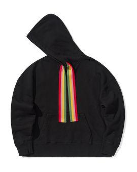 Striped tape hoodie