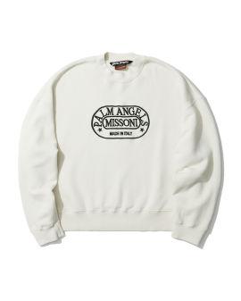 X MISSONI heritage crew neck sweatshirt