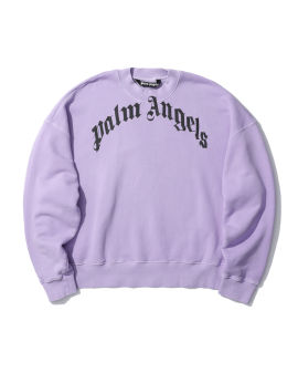 Curved logo sweatshirt