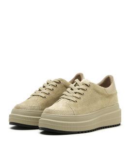 Chunky corduroy sneakers