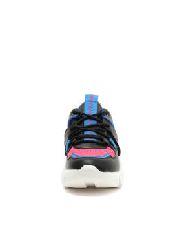 Colour block panelled chunky sneakers