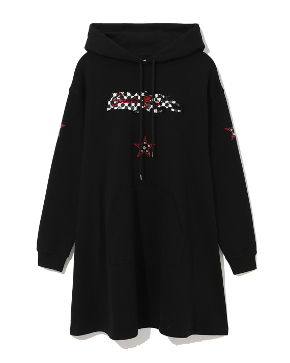 c9aee566886 McQ Santa Rosa Racing hoodie dress