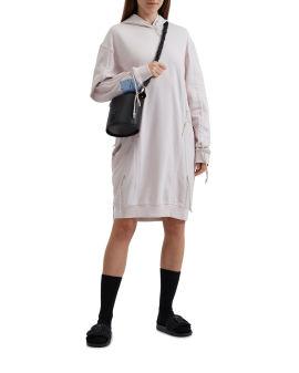 Breath hoodie dress
