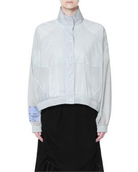 Ripstop semi-sheer jacket