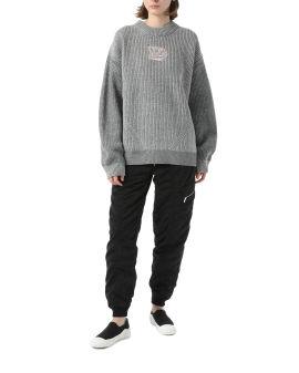 In Dust oversize knit sweater