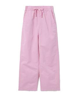Drawstring flared pants