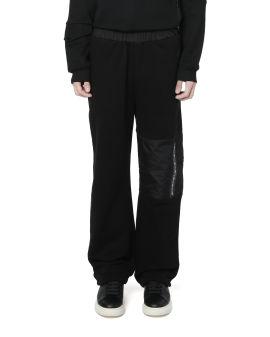 Panelled baggy sweatpants