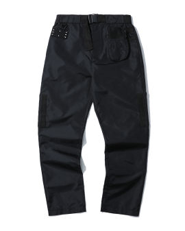 Branded modular trousers
