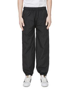 Zip gathered track pants