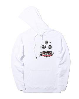 Racing logo collage hoodie