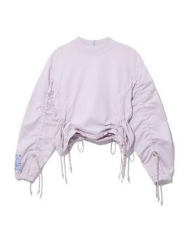 Drawstring detail sweatshirt