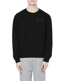 Regular pullover sweatshirt