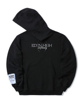 Graphic embroidered hoodie