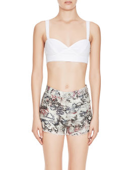 Broderie anglaise bralette top
