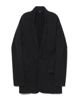 Oversized ragged blazer