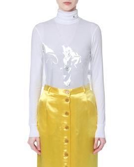 Transparent vest coat