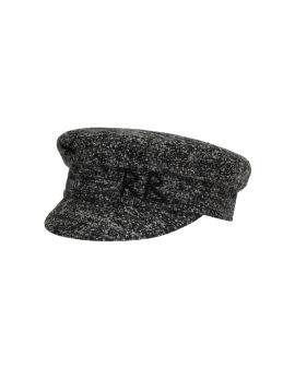 Embroidered monogram cap