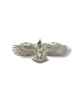 Small young eagle pendant