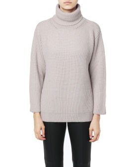 Red Ladies knit sweater