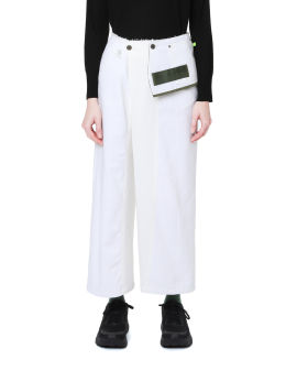 Layered pants