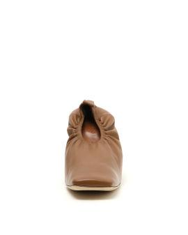 Edie leather pumps