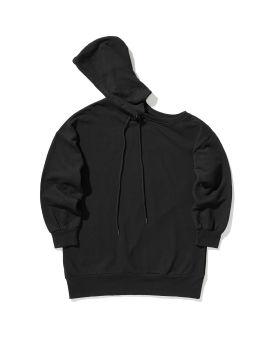 Cutout hoodie dress