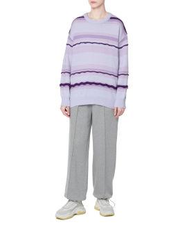 Trim detail sweater