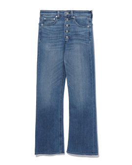 Buttoned jeans