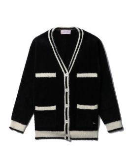 Knitted v-neck cardigan