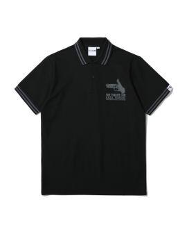 The Finger Gun print polo shirt