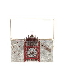 London crystal embellished bag