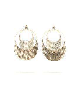 Lamè earrings