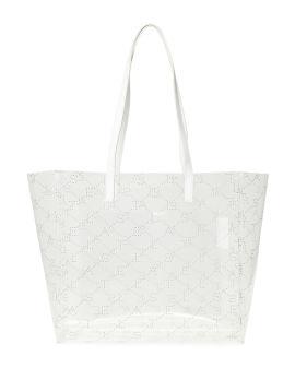 Monogram small tote bag