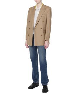 Belted blazer