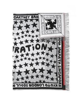 """STELLABRATION"" intarsia scarf"