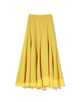 A-line layered skirt