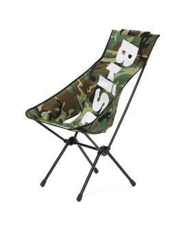 X Helinox emblem folding sunset chair