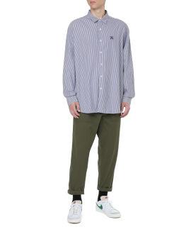 Baggy regular collar shirt