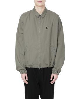Relaxed blouson jacket